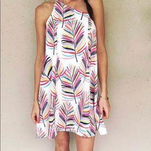 Crosby by Mollie Burch palm print dress